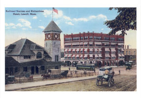 Railroad Station, Richardson Hotel