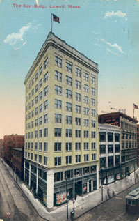 The Lowell Sun Building