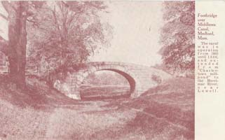 Middlesex Canal Brooks Mansion (Arch Bridge)