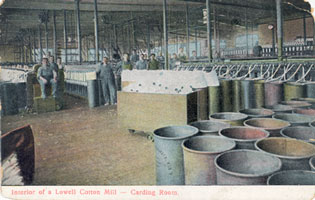 A Lowell Cotton Mill