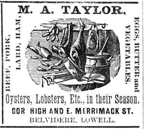 City Business Directory ad for Taylor Provisions