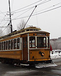 Lowell electrical trolley (restored)
