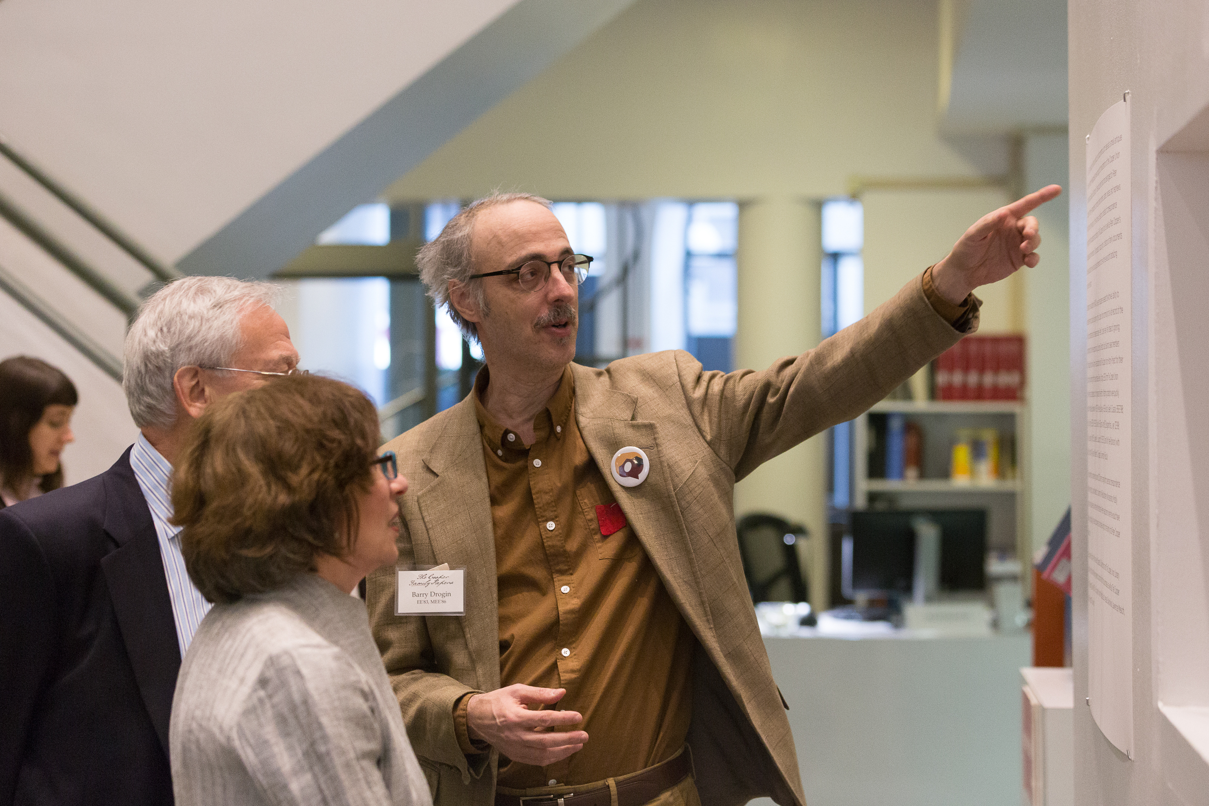 Reception for Cooper Family Papers exhibition