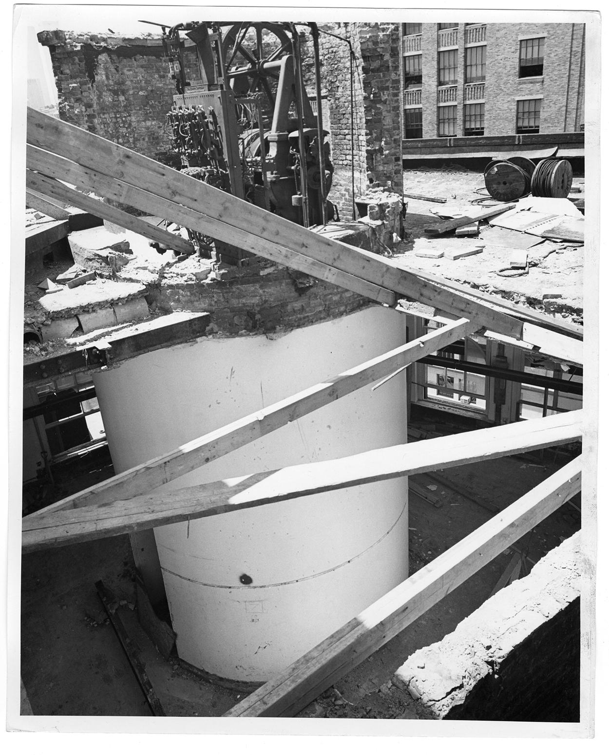 Foundation Building under renovation