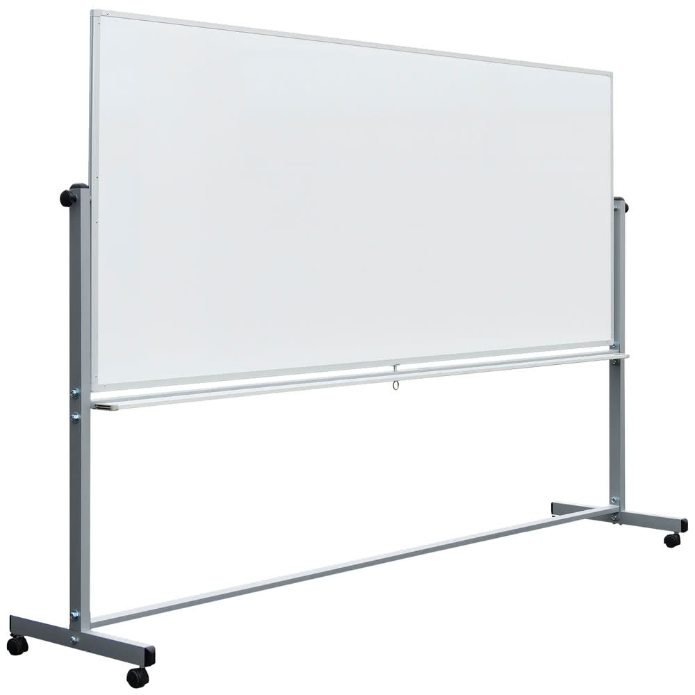 Large Rolling Whiteboard