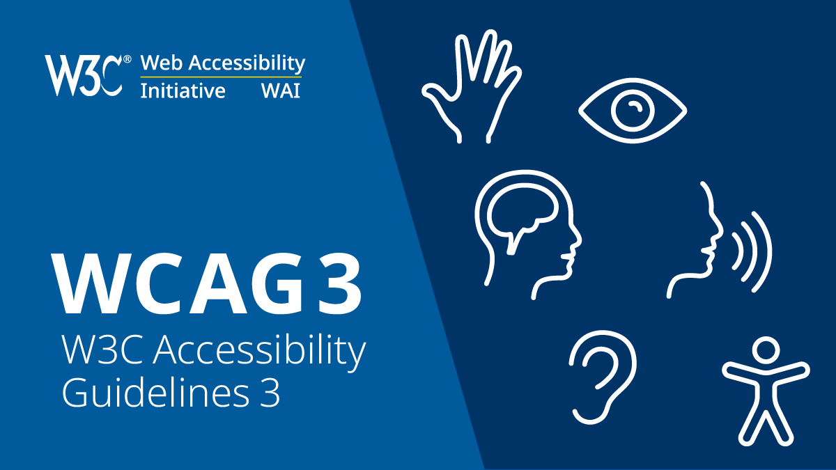 Library websites and platforms now largely WCAG 3.0 compliant.