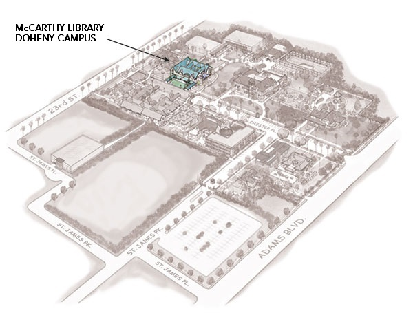 Doheny Campus - McCarthy Library Location
