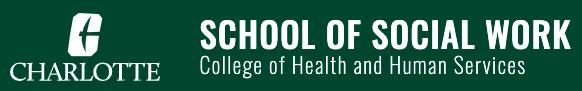 Logo for the Charlotte School of Social Work