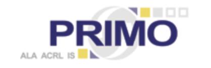 logo of ALA ACRL PRIMO