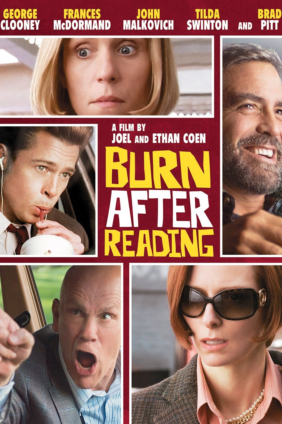 Burn After Reading DVD cover