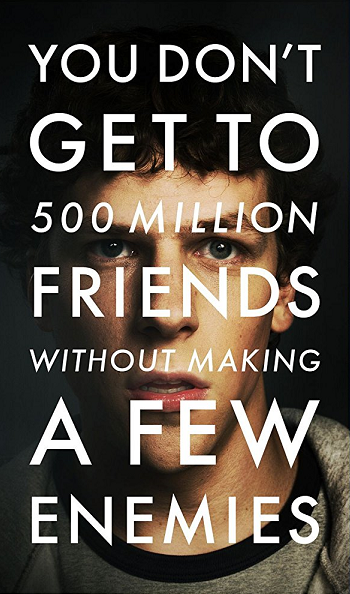 The Social Network dvd cover