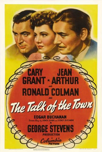 Talk of the Town dvd cover