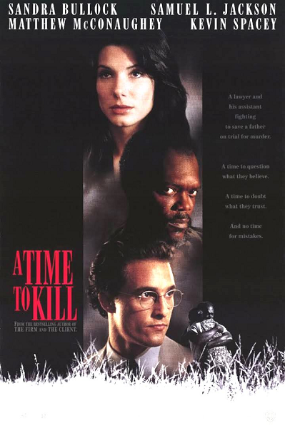 A Time to Kill dvd cover