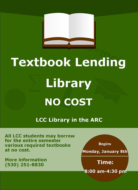 Textbook Lending Library
