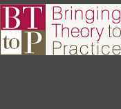 Bringing theory to practice. Newsletter logo
