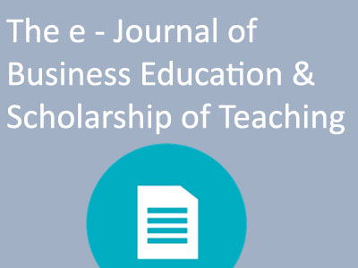 The e - Journal of Business Education & Scholarship of Teaching. Icon
