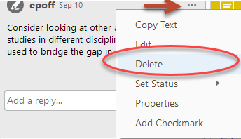 Delete Annotation from Adobe Reader