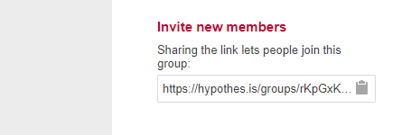 Invite Members to Private Hypothesis Group