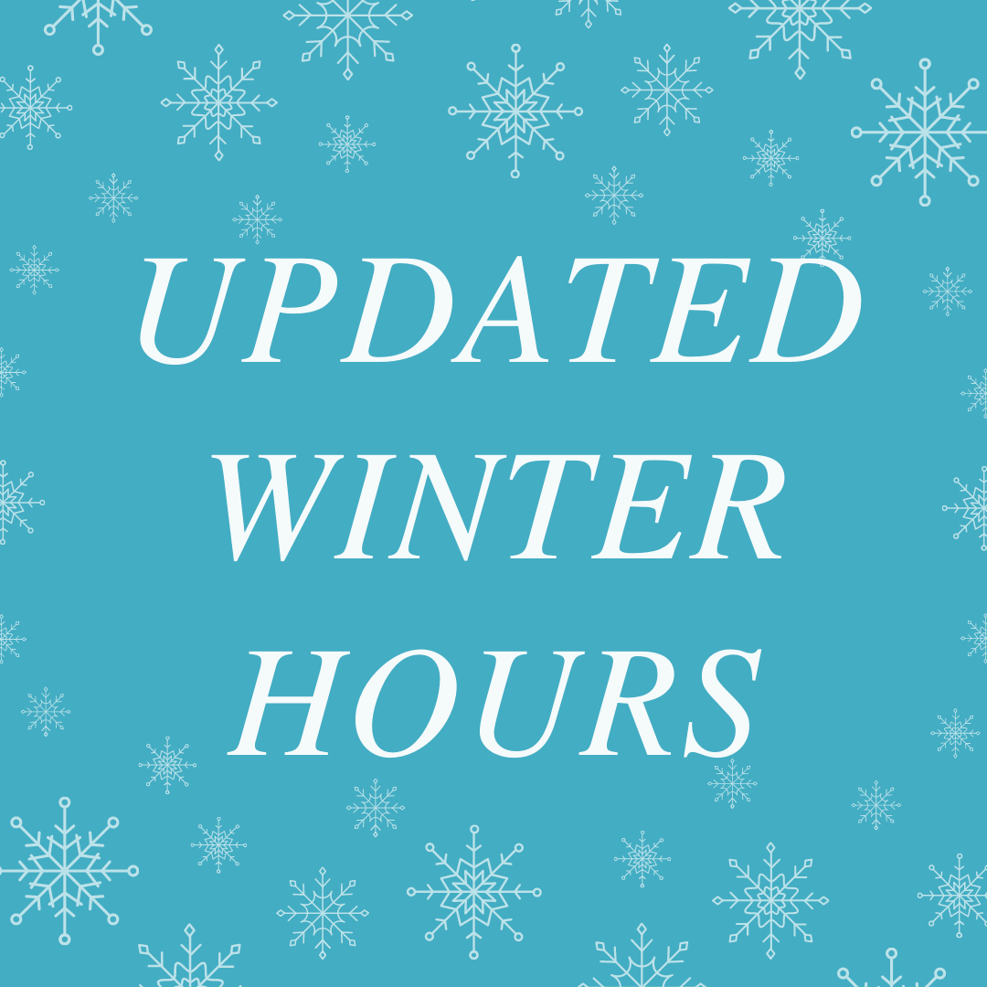 Updated Winter Hours