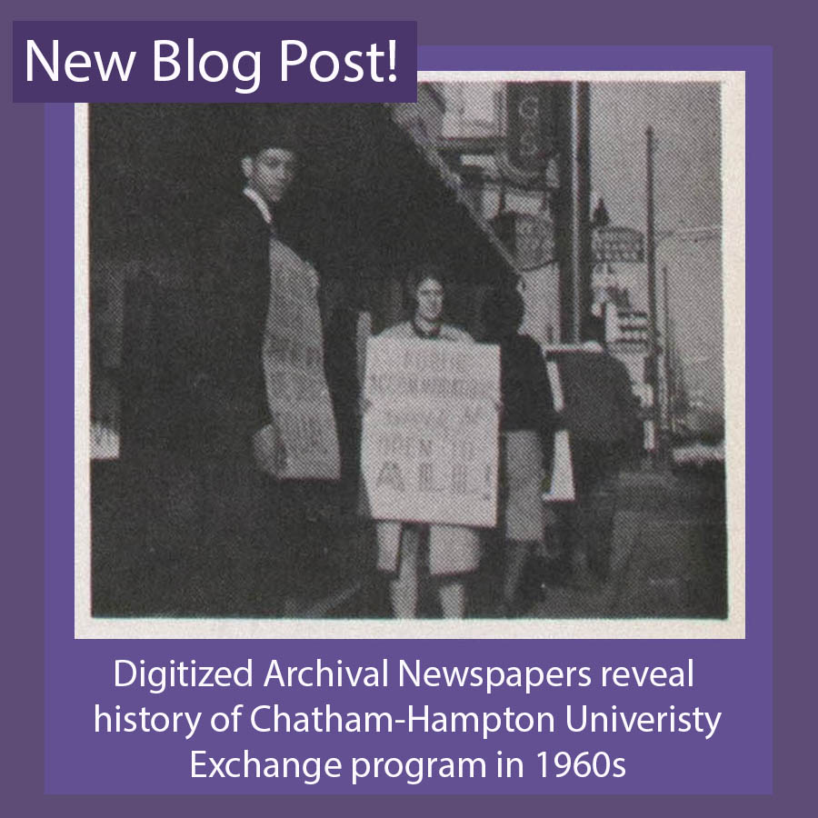 The Chatham-Hampton University Exchange and the Civil Rights Movement