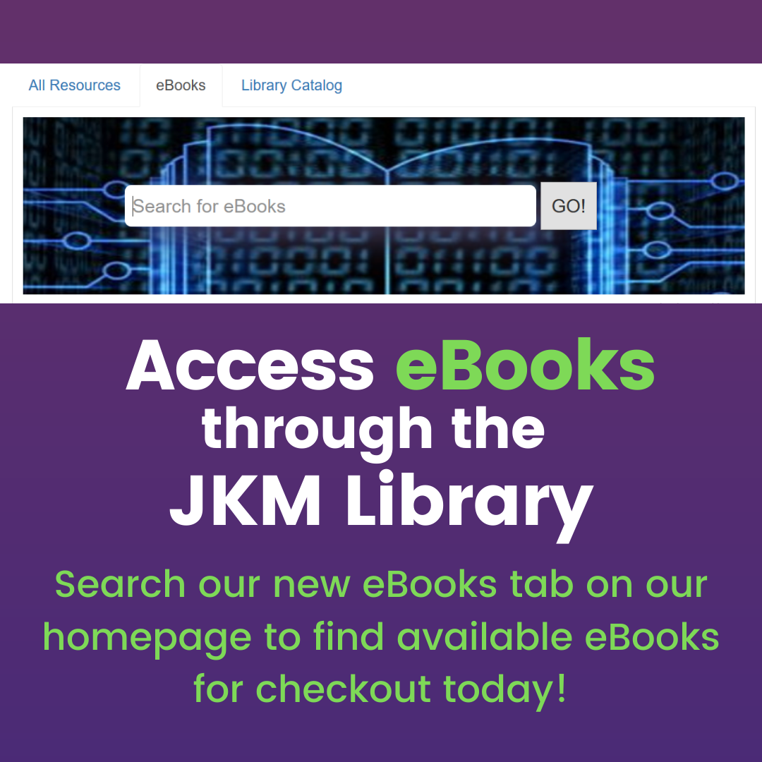 New eBook Search Tab