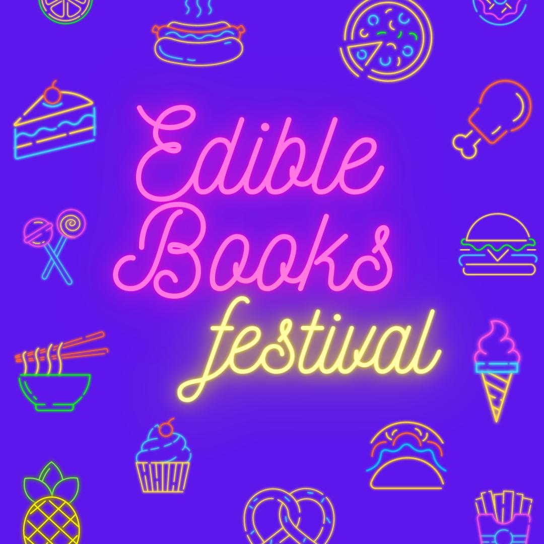 International Edible Book Festival virtual display