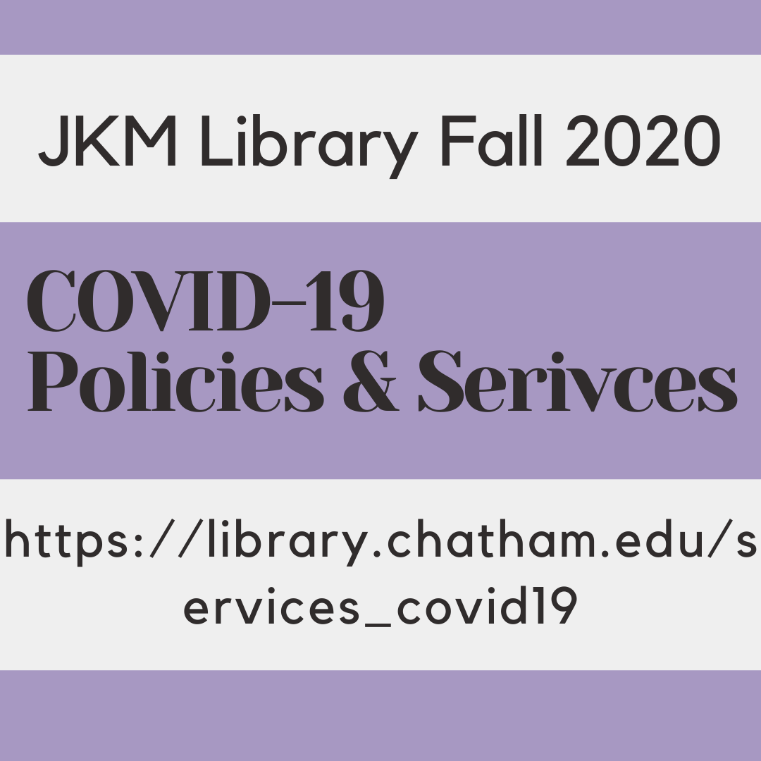 Library Policies and Services for Fall 2020