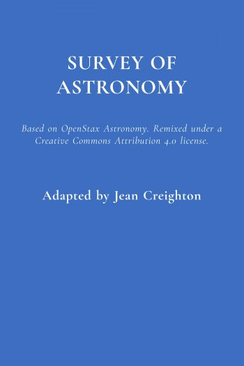 Survey of Astronomy Book Cover