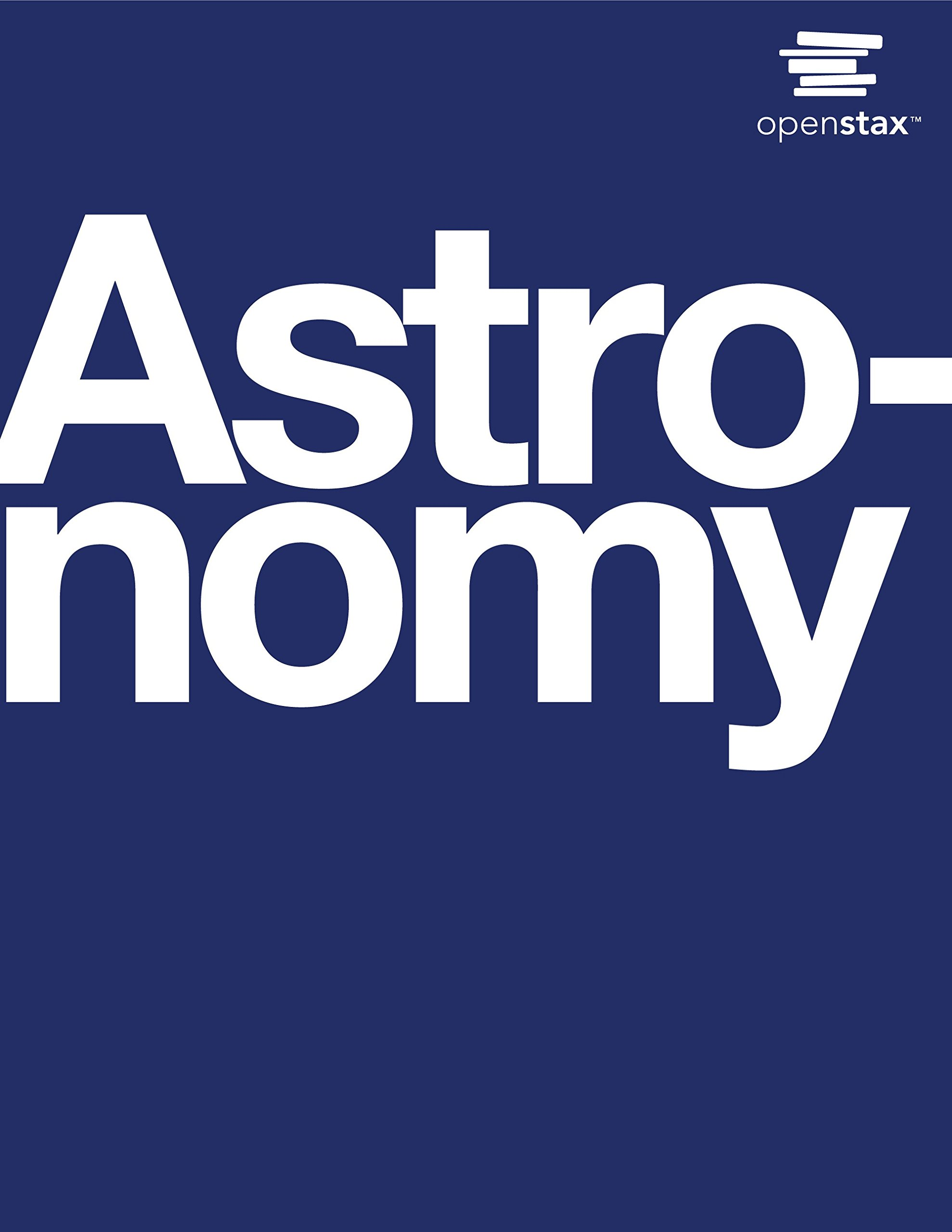 Astronomy Openstax book cover