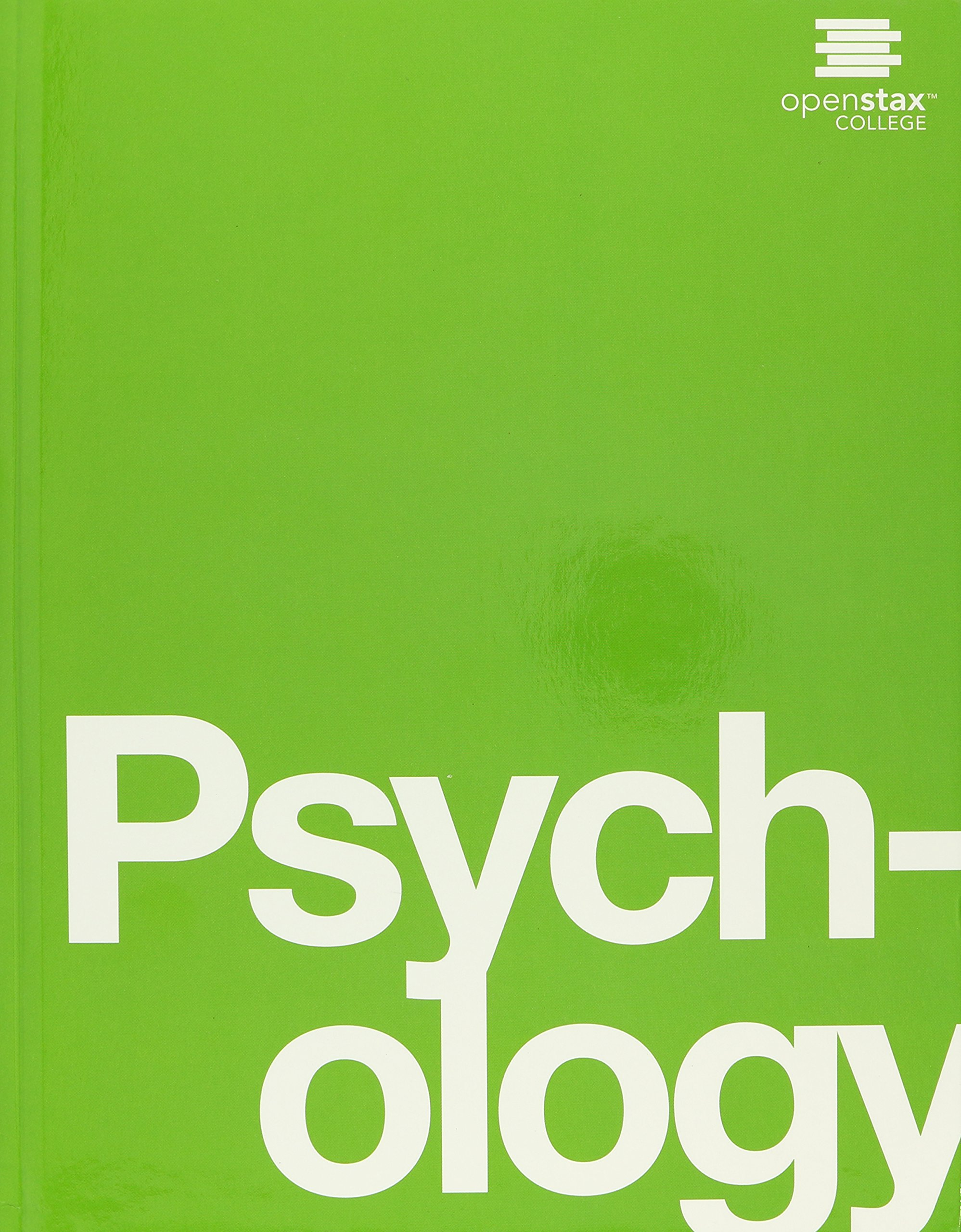 Psychology Openstax Book Cover