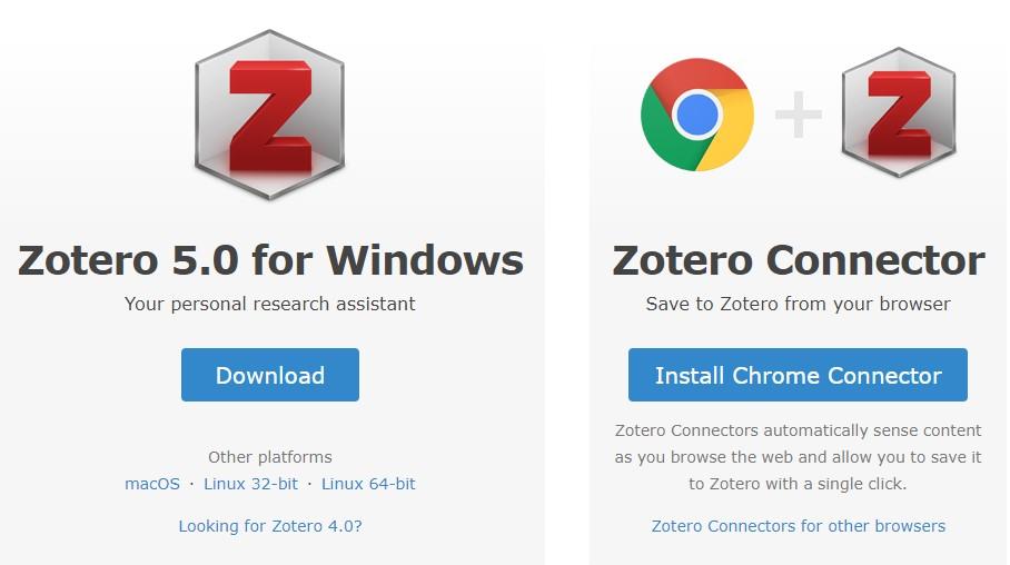 Zotero Download