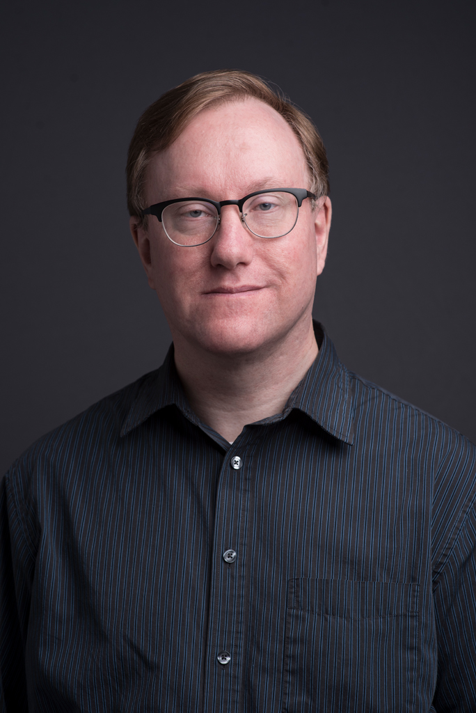 photo of Chris Strauber, Theology librarian