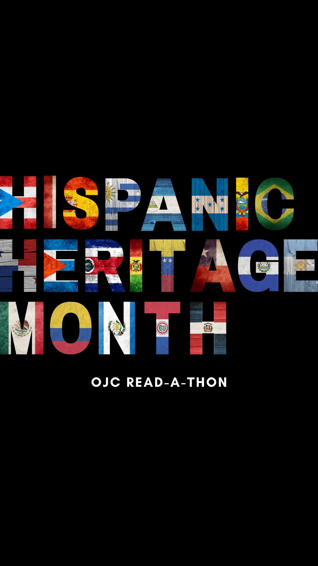 Hispanic Heritage Month OJC Read A Thon