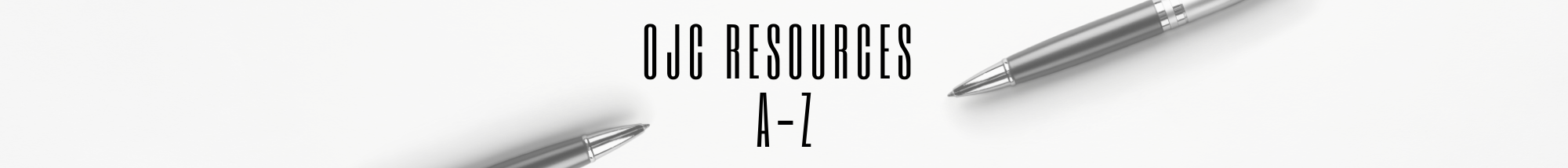 OJC Resources A to Z