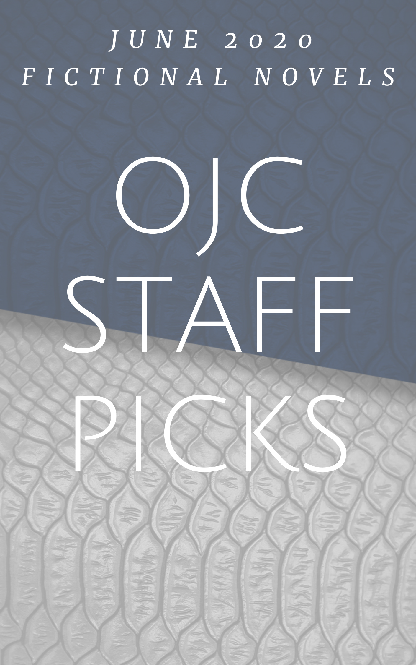 Fictional Novels OJC Staff Picks