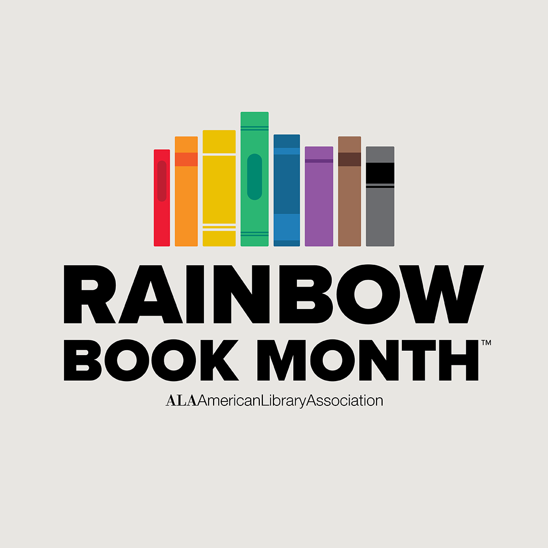 Rainbow Book Month Graphic