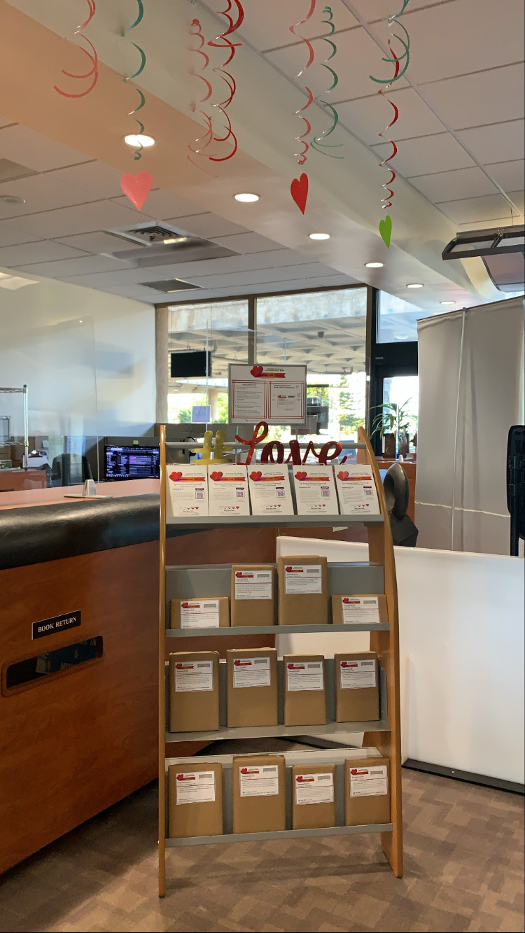 Blind Date with a Book: Library Display
