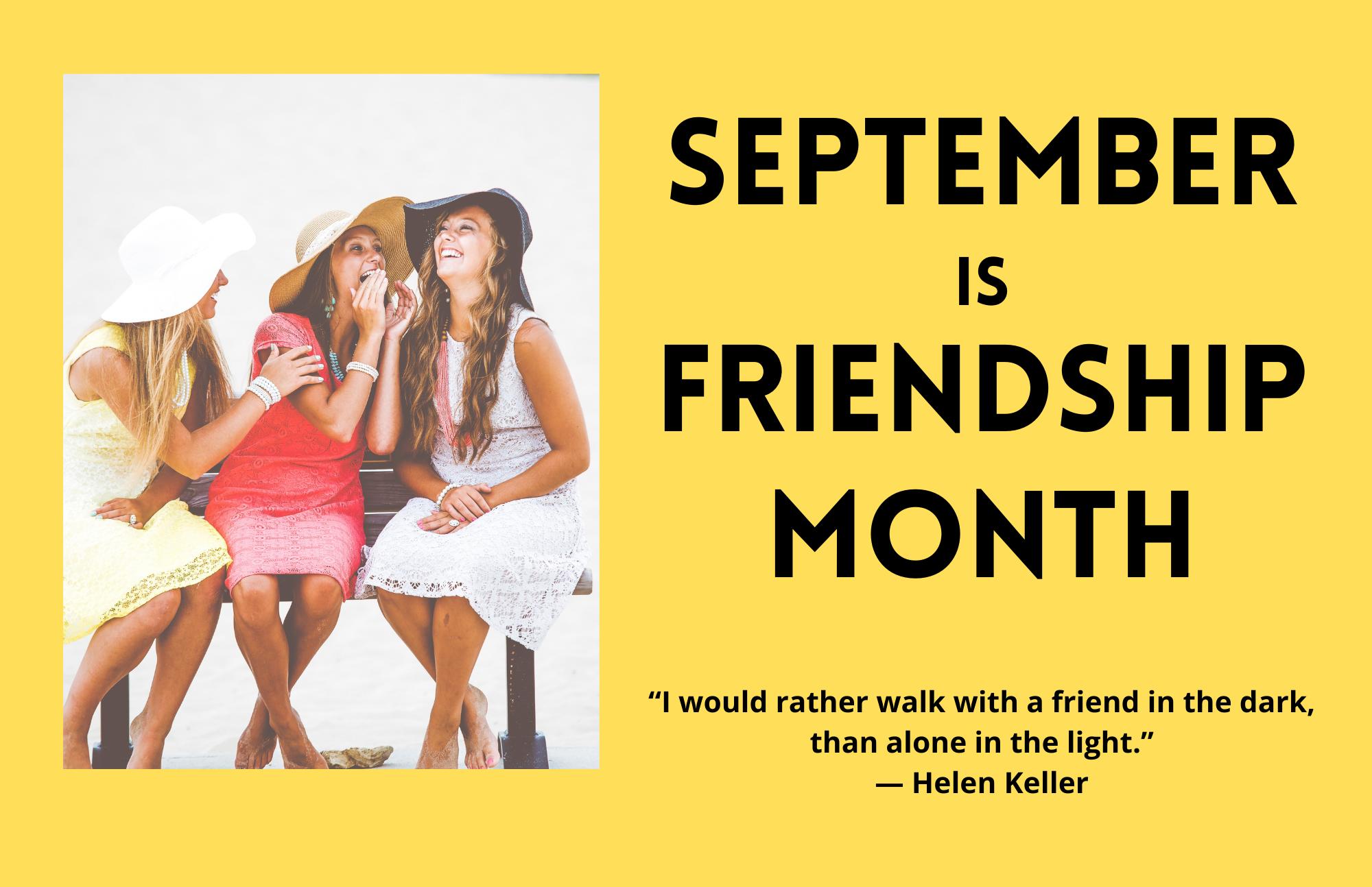 Friendship Month Flyer