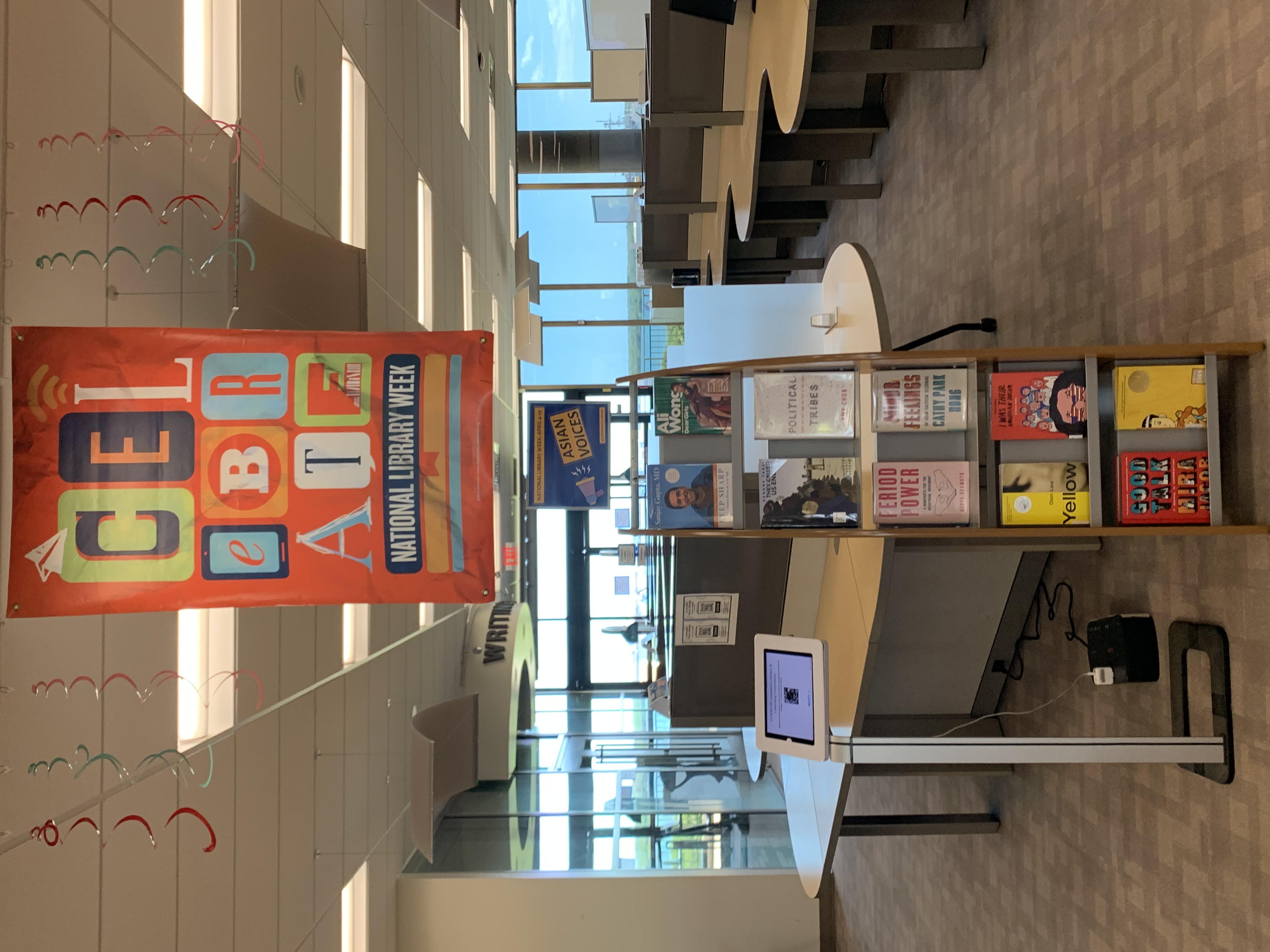 National Library Week 2021 Display
