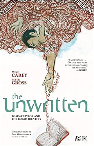 The unwritten. [1], Tommy Taylor and the bogus identity
