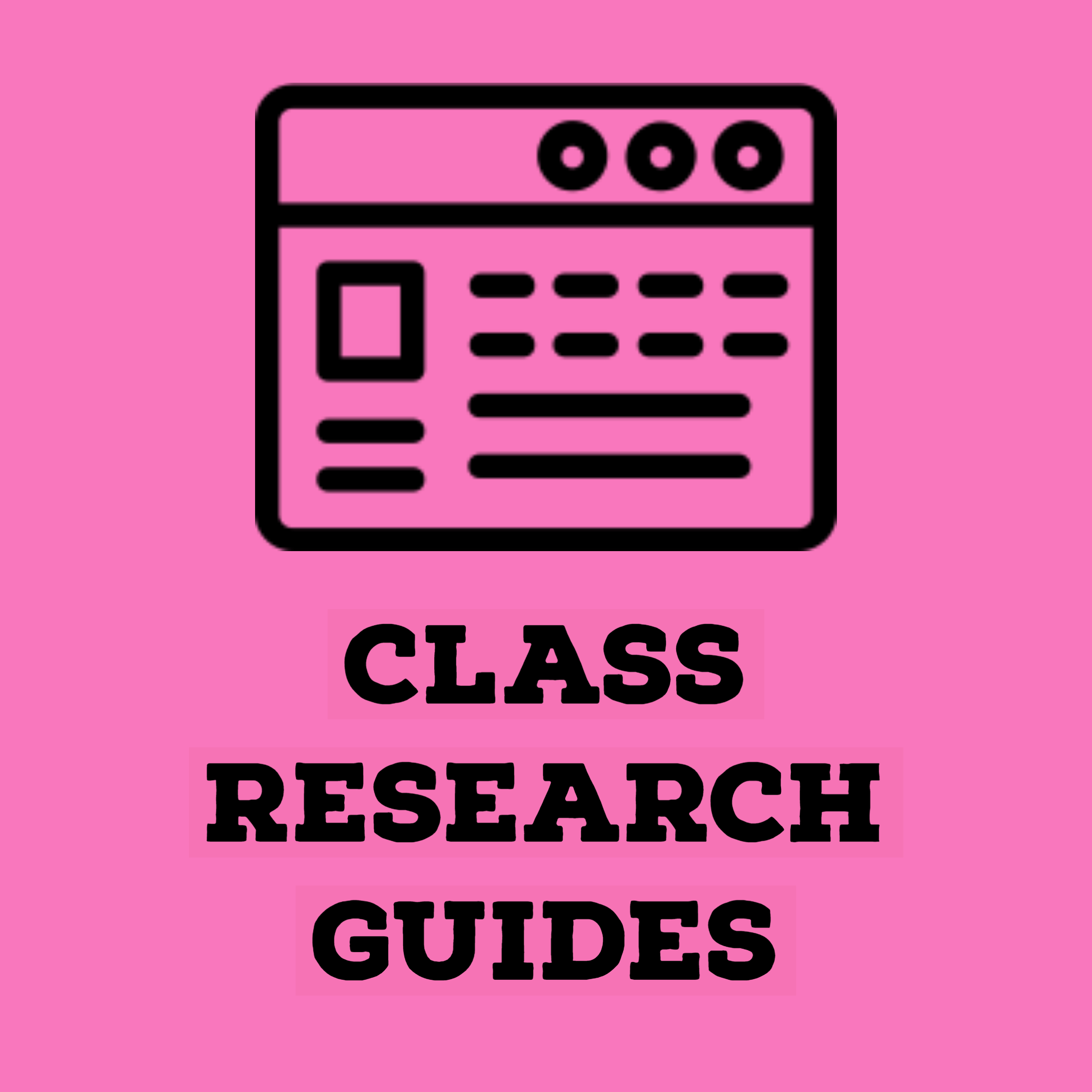 blank research guide