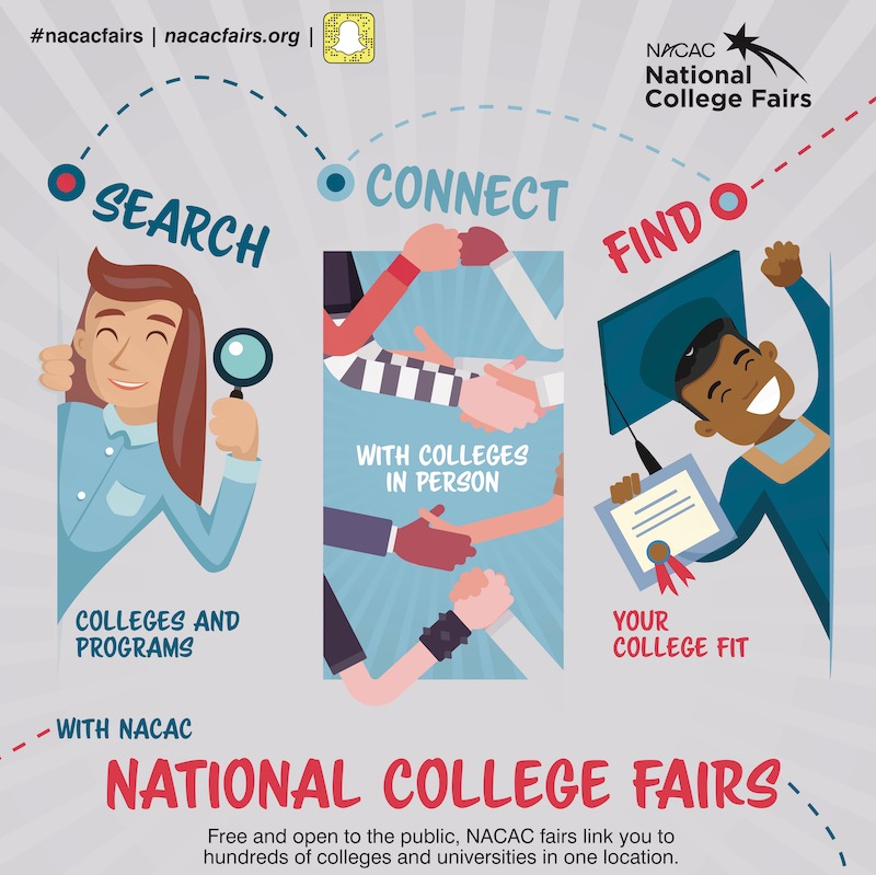 NACAC National College Fair, Seattle - November 1 and 2, 2019