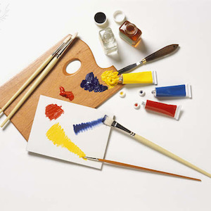 Artist's palette - Britannica ImageQuest
