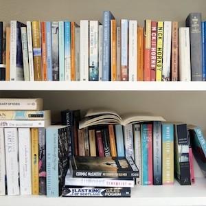 Shelf of books - Britannica ImageQuest