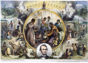 Emancipation Day wood engraving - Britannica ImageQuest