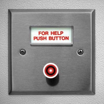 For help push button - Britannica ImageQuest