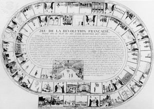 French Revolution Board Game, 1789, with events from the Storming of the Bastille to the National Convention - Britannica ImageQuest