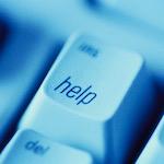Help button on computer - Britannica ImageQuest