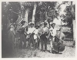 Emancipation Day Celebration Band, June 19, 1900