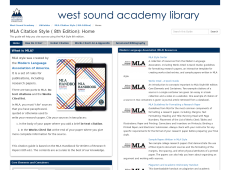 MLA Citation Style Guide
